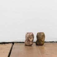 stone, bronze, dimensions variable. Courtesy the artist and Vera Cortes Art Agency.